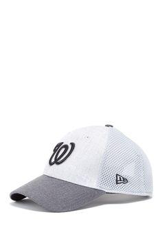 17cb0a2bcdb MLB Washington Nationals Team Baseball Cap - Gray 940 Neo Vintage Baseball  Caps