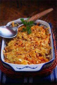 Pumpkin Cheeese Gratin-Гратен из тыквы с сыром
