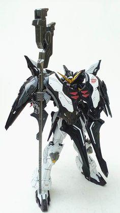Painted Build: DM 1/100 Gundam Deathscythe Hell TV ver. - Gundam Kits Collection News and Reviews Gundam Toys, Gundam Art, Gundam Mobile Suit, Gundam Wallpapers, Gundam Custom Build, Arte Cyberpunk, Gundam Seed, Gundam Wing, Mecha Anime