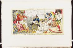 1 February 1813:Bodleian Libraries, The imperial shaving shop.Satire on the Napoleonic wars. (British political cartoon)
