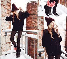 Dressed In Black (by Lina ♡) http://lookbook.nu/look/4684031-Dressed-In-Black