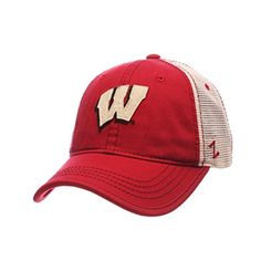 sale retailer 7495e 32eae Compare prices on Wisconsin Badgers Adjustable Hats from top online fan  gear retailers. Save money on adjustable hats and caps.