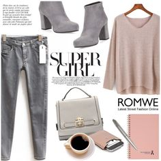 Romwe contest entry by helenevlacho on Polyvore featuring polyvore, fashion, style, Prada, Gucci, Natico, Anja and romwe