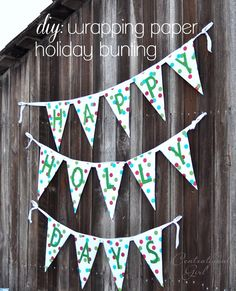 DIY Wrapping Paper Bunting diy wrapping paper holiday bunting The post DIY Wrapping Paper Bunting appeared first on Paper Diy. Wrapping Paper Crafts, Gift Wrapping, Wrapping Ideas, Paper Gifts, Diy Paper, Free Paper, Make Bunting, Origami, Newspaper Crafts