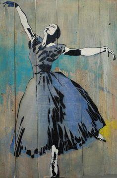 Blek le Rat - Ballerina - Blek le Rat - Wikipedia, the free encyclopedia