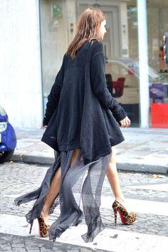 Paris Street Fashion - Summer Street Fashion in Paris