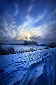 """Blue Horizons"" Wisconsin Horizons by Phil Koch. Lives in Milwaukee, Wisconsin, USA. http://phil-koch.artistwebsites.com https://www.facebook.com/MyHorizons"