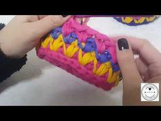 DIY Crochet Round Basket with Cotton Rope 3   Penye ipten Yuvarlak Sepet Yapımı 3 - YouTube
