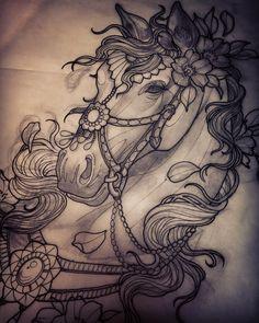Pretty pony for my dear Tiff   (at Scythe&Spade)