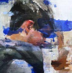 "Saatchi Art Artist Lou Ros; Painting, ""LR2"" #art"