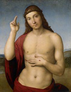 Rafael, Christus de Verlosser zegent ons, ca 1505-1506, olieverf op paneel