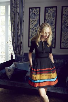 such a lovely dress #PinceauDress #Anthropologie #anthrofav