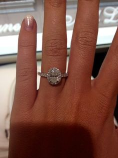 Neil lane oval engagement ring
