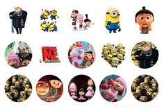 Despicable Me Free Bottle Cap Images by Folie du Jour