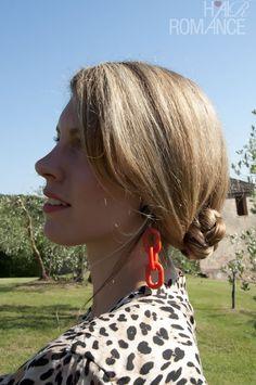 Hair Romance - Braided bun hairstyle how to