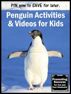 Visit this teacher blog for free teaching ideas, resources and lesson plans for your winter penguins unit studies. You will find videos, printables and penguin crafts for kids. You will also find free printable math, science and literacy task cards with a penguins or arctic animals theme for students. Who doesn't love freebies? Gift ideas are included for preschool, kindergarten and elementary (1st, 2nd 3rd grade) classrooms.