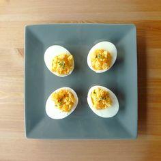 Petite recette toute simple aujourd'hui : les oeufs mimosa :)