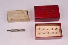 ANTIQUE VINTAGE WATCH STAKING TOOLS - PIN STAKE, SCREW REMOVING PUNCHES #SWARTCHILDCO