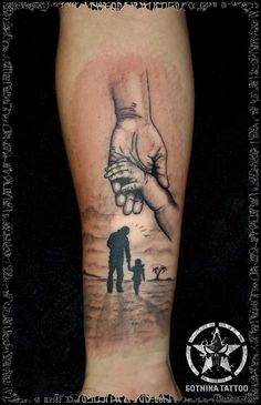 Resultado de imagen de father daughter tattoos