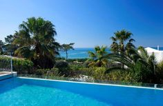 A pool with a view in Vale do Lobo Algarve