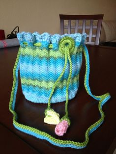 Cinderella Purse: free pattern
