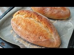 ευκολότερη συνταγή ψωμιού στο σπίτι - YouTube Serbian Recipes, Bulgarian Recipes, Artisan Bread Recipes, Baking Recipes, Pan Ranchero, Different Types Of Bread, Savory Pastry, Easy Bread, Tortilla