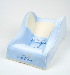 Love this color -- need this baby blue Daydreamer Sleeper for baby! On the top of the list of best new Must-Have Products for New Moms