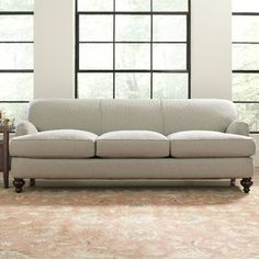 "Dedham 92"" Sofa, looks exactly the Pottery Barn Carlisle Sofa"