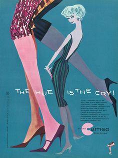 MCM Cameo Stockings Ad