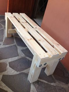 Bench.... made from a pallet