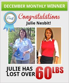Click on picture to read Julie's weight loss story.  #idealshape #shapeforlife #shipshapechallenge #idealshapesuccessstories