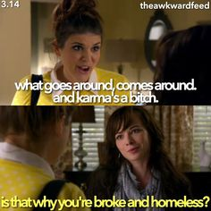 "#Awkward 3x14 ""The Bad Seed"" - Sadie and Jenna"