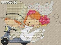 Sposi in motorino