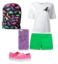 """Dinos"" by naviere05 on Polyvore featuring Hollywood Mirror, J.Crew, Muveil, Vans and Boohoo"