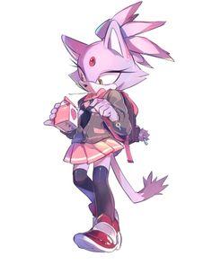 Blaze the Cat Shadow The Hedgehog, Sonic The Hedgehog, Hedgehog Art, Silver The Hedgehog, Sonic 3, Sonic And Amy, Sonic Fan Art, Blaze The Cat, Game Character