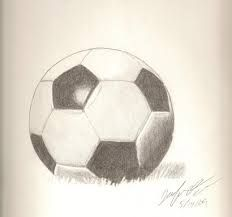 Image result for soccer ball drawing