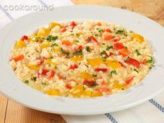 Risotto alla vogherese con peperoni: Ricetta Tipica Lombardia