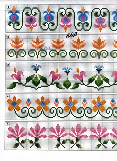 Brilliant Cross Stitch Embroidery Tips Ideas. Mesmerizing Cross Stitch Embroidery Tips Ideas. Cross Stitch Boarders, Mini Cross Stitch, Cross Stitch Alphabet, Cross Stitch Flowers, Cross Stitch Charts, Cross Stitch Designs, Cross Stitching, Cross Stitch Embroidery, Cross Stitch Patterns