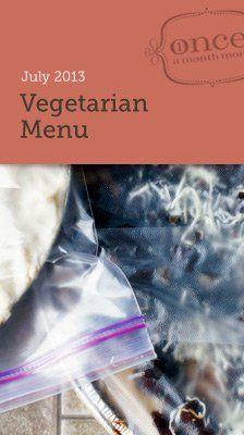 Vegetarian monthly #mealplanning #freezer menu - all you need to make meals for a month all in one day. #oamc