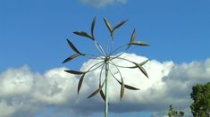 Double Spinner | Lyman Whitaker | Copper Wind Sculpture : Wiford Galle...