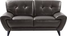 Cindy Crawford Home Midtown East Slate Leather Loveseat . $868.00. 67W x 39D x 34H. Find affordable Leather Loveseats for your home that will complement the rest of your furniture