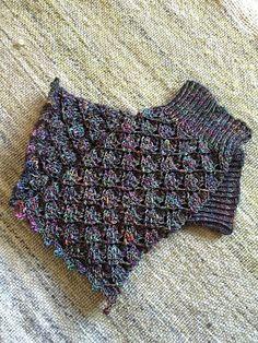 "Knitted studs ""Barcelona"" – instruction – Caros Fummeley - Knitting for Beginners"