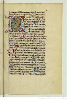 Titre : Horae ad usum Aurelianensem. Date d'édition : 1475-1600 Latin 1368 10r
