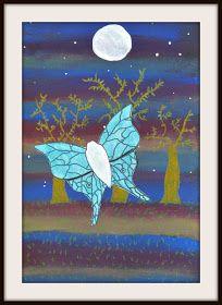 MaryMaking: Luna Moths by Moonlight