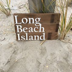 Reclaimed Wood Sign, Wall Art, Handmade, Long Beach Island, Wedding, Birthday, Gift, Christmas by MomsGoneMad on Etsy