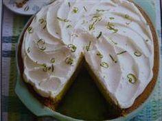 Key Lime Pie/ Limoentaart recept   Smulweb.nl