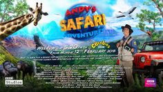 The wonderfully versatile David Whittle has just finished designing and animating the title sequence and key CG shots for a brand new series 'Andy's Safari Adventures' made by BBC Natural History for CBeebies!  #animation #cbeebies #children #kids #kidsTV #andysadventures #safari #animals #education #teaching #resources #davidwhittle