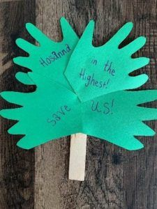 Palm Sunday Lesson, Sunday School Lessons, Sunday School Crafts, Palm Sunday Craft, Toddler Crafts, Preschool Crafts, Easter Crafts, Crafts For Kids, Children Crafts