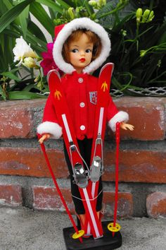 Vintage Ideal Tammy Doll Snow Bunny by Dtinajero on Etsy,