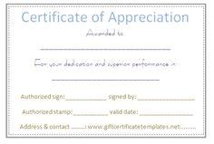 Dots border certificate of appreciation template